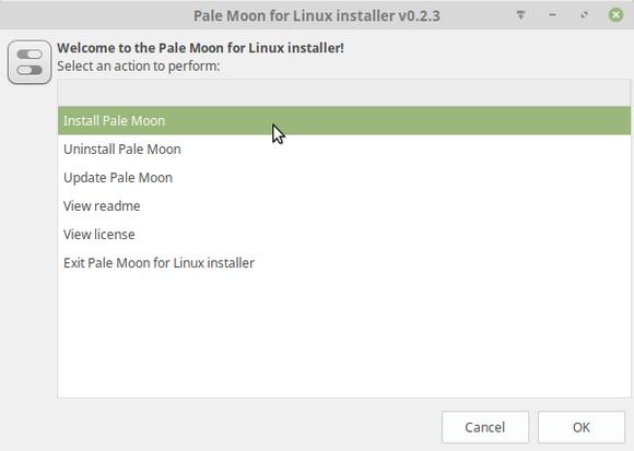 Pale Moon for Linux installer v0.2.3_278.png